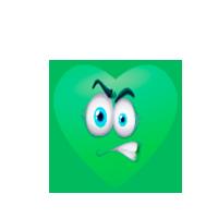 green-heart-angry-emoji