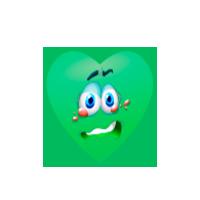 green-heart-cry-emoji