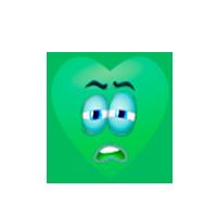 green-heart-sleepy-emoji