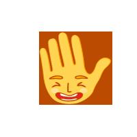 hi-five-ha-ha-emoji