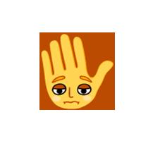 hi-five-sad-emoji