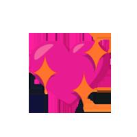 Sparkling-Pink-Heart-Emoji