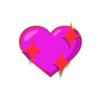 Sparkling-Purple-Heart-Emoji