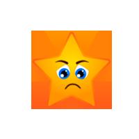 Star Eyes Sad Emoji