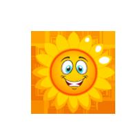 sunflower-very-happy-emoji