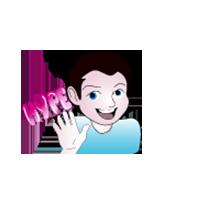 Boy Hype Emoji