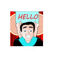 Hello Emoji