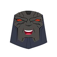 Darkseid Ha Ha Emoji