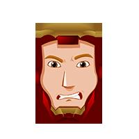 Ironman Angry Emoji
