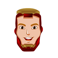 Ironman Happy Emoji