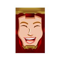 Ironman Very Happy Emoji