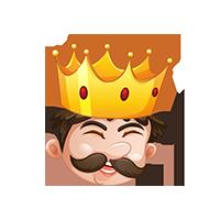 King Happy Emoji