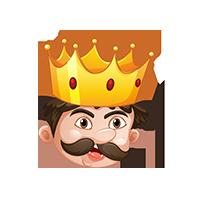 King Shocked Emoji