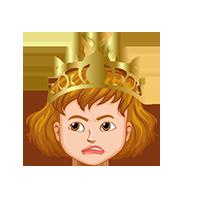 Queen Confused Emoji