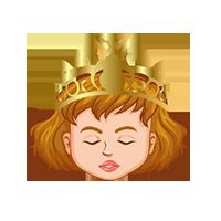 Queen Sleepy Emoji