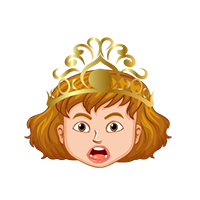 Queen Surprised Emoji
