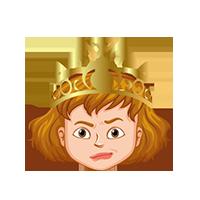 Queen Thinking Emoji