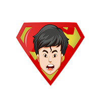 Superman Action Emoji