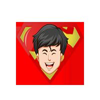 Superman Happy Emoji