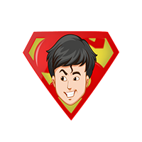 Superman Smile Emoji
