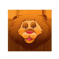 Lion Happy Emoji