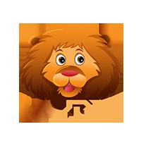 Lion Hype Emoji