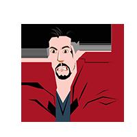 Doctor Strange Angry Emoji