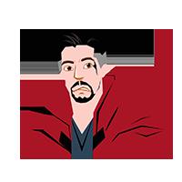 Doctor Strange Sad Emoji