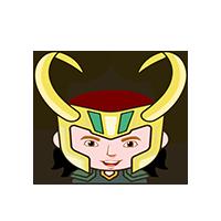 Loki Happy Emoji