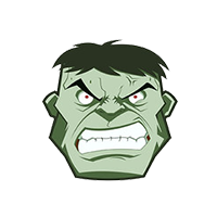 Off White Hulk Emoji