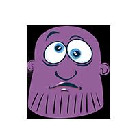 Thanos Confused Emoji