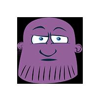 Thanos Sleepy Emoji
